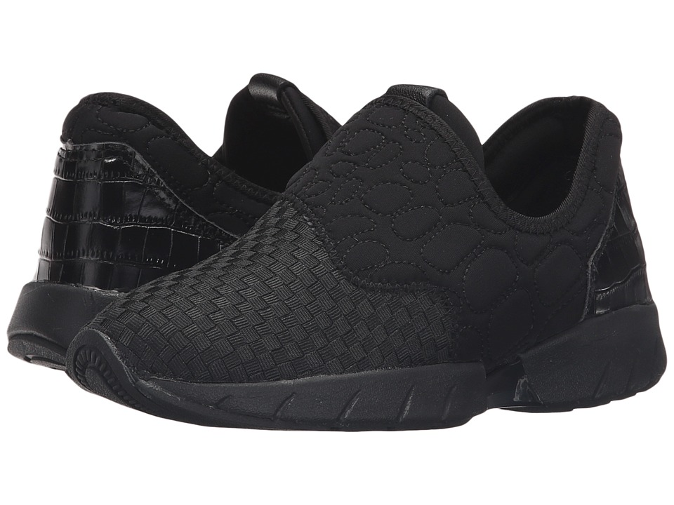 bernie mev. - Razer Speed (Black/Black) Women's Slip on Shoes