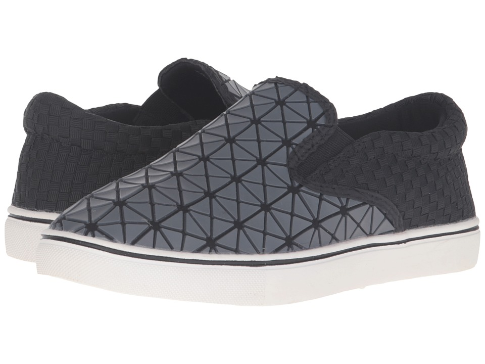 bernie mev. - Verona Web (Black/Grey) Women's Slip on Shoes