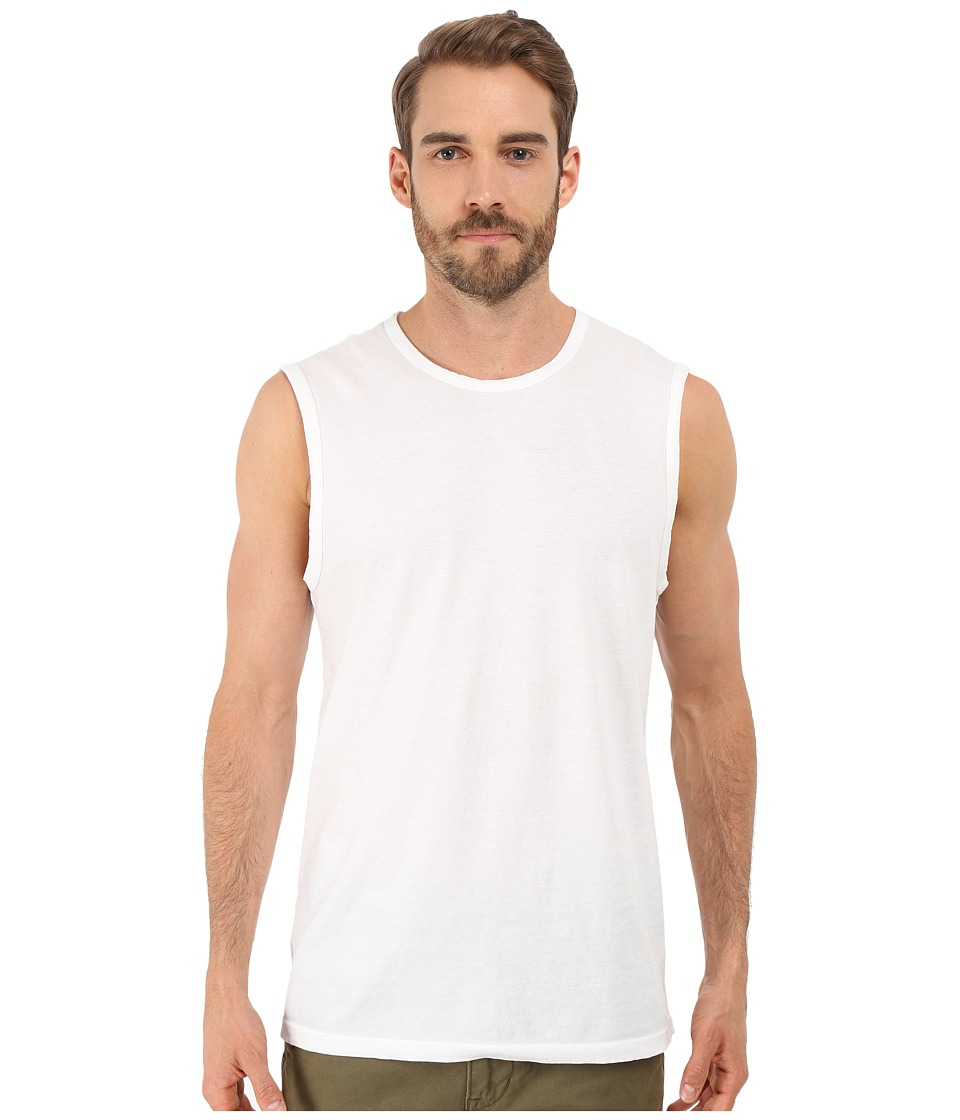 Michael Stars - Cotton Tank Top (White) Men's Sleeveless