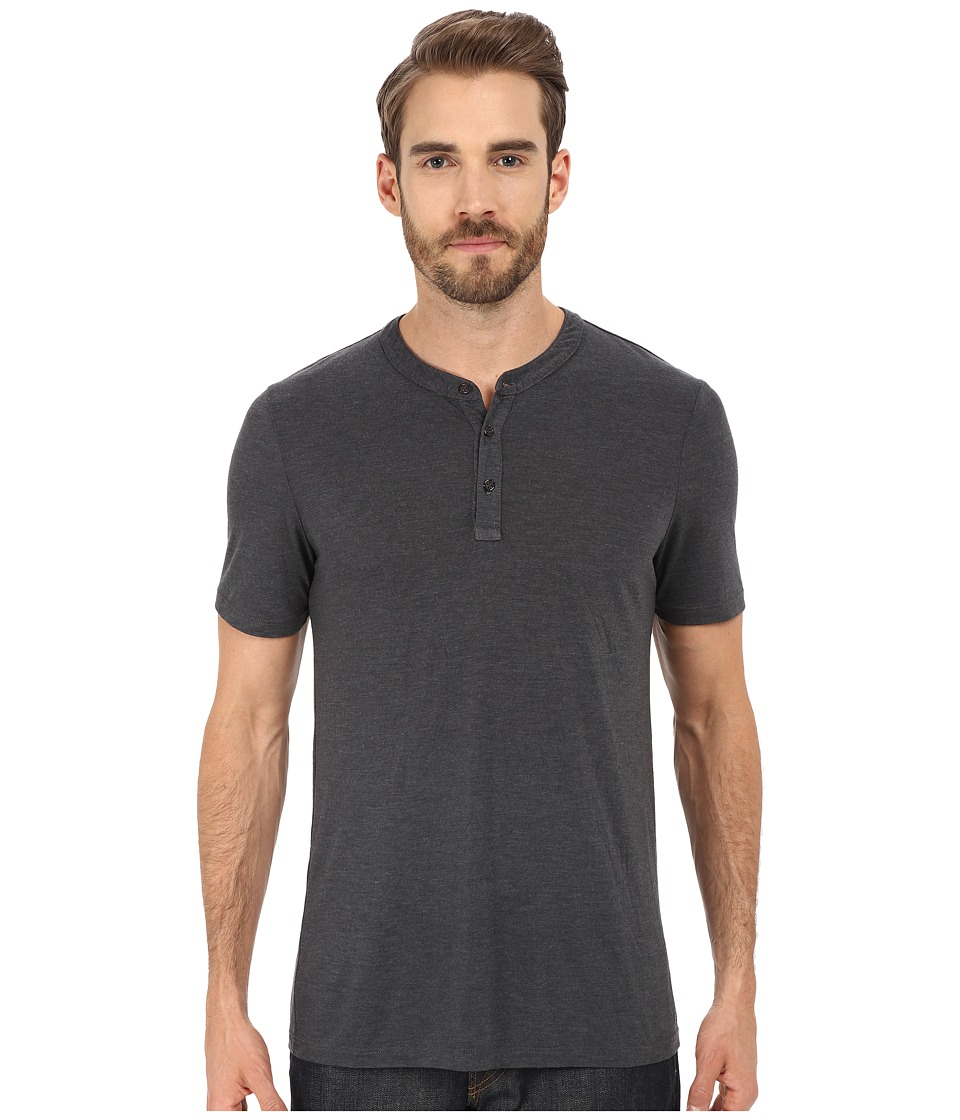 Michael Stars - Short Sleeve Bamboo Henley (Oxide) Men's Clothing