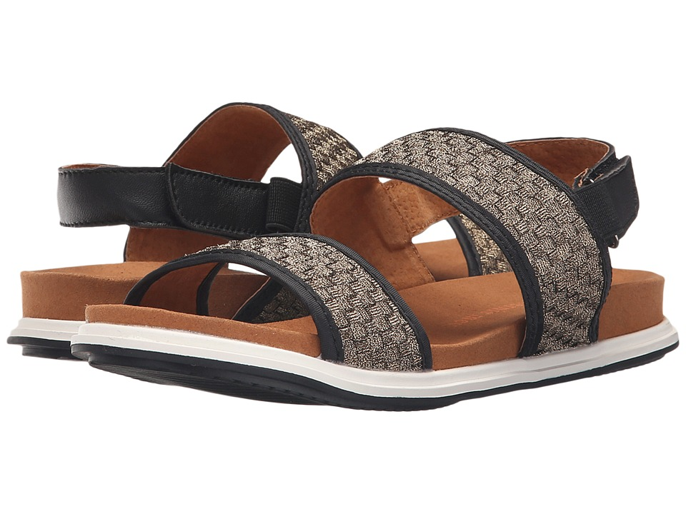 bernie mev. - Atlantis (Black/Bronze) Women's Sandals