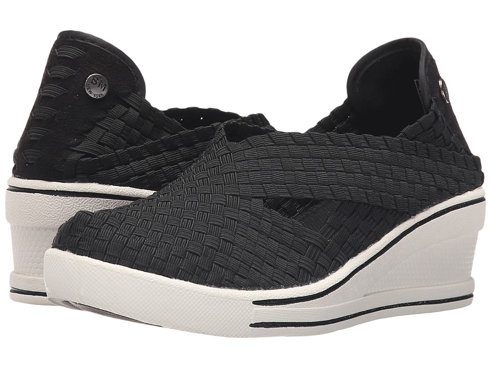 bernie mev. - Deluxe (Black) Women's Wedge Shoes