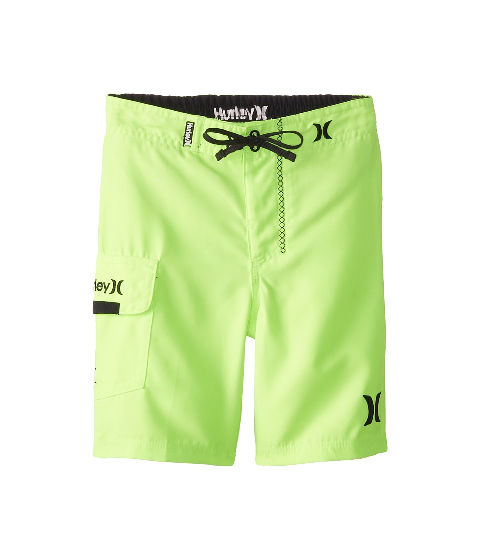 Hurley Kids - One Only Boardshorts (Little Kids) (Volt) Boy's Swimwear