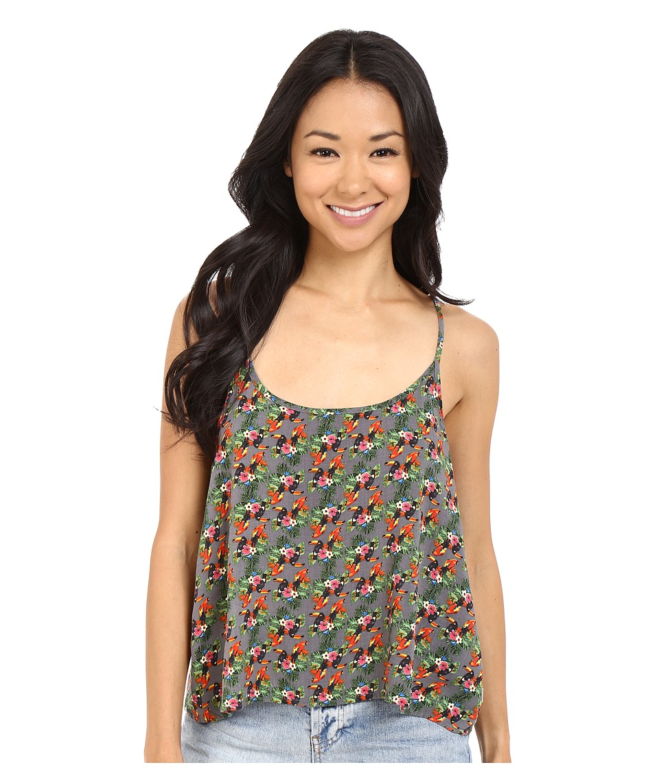 Vans - Saturn Tank Top (Parrot) Women's Sleeveless