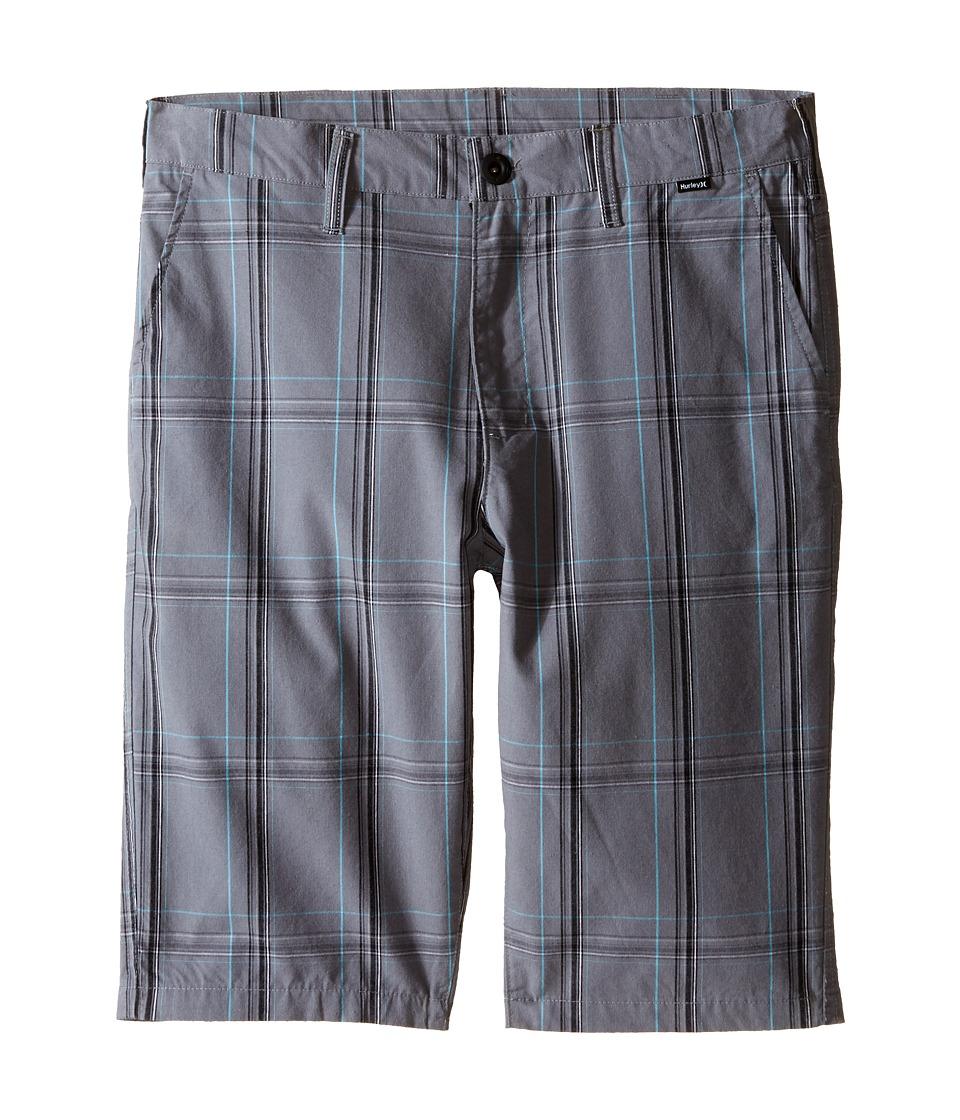 Hurley Kids - Party Walkshorts (Big Kids) (Cool Gray) Boy's Shorts