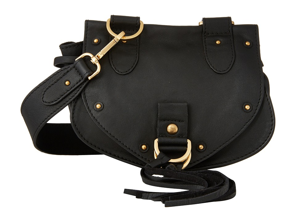 See by Chloe - Mini Collins Crossbody (Black) Cross Body Handbags