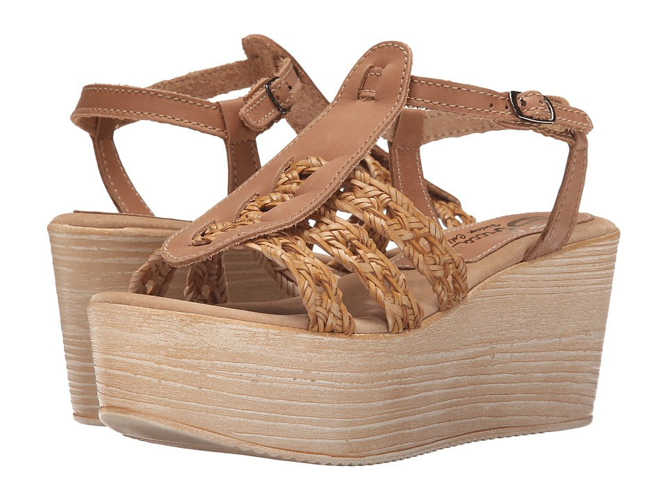 Sbicca - Davenport (Nude) Women's Wedge Shoes