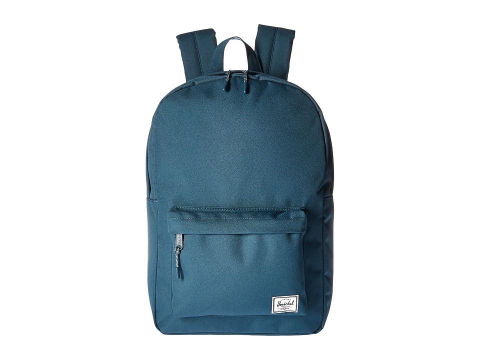 Herschel Supply Co. - Classic Mid-Volume (Indian Teal) Backpack Bags