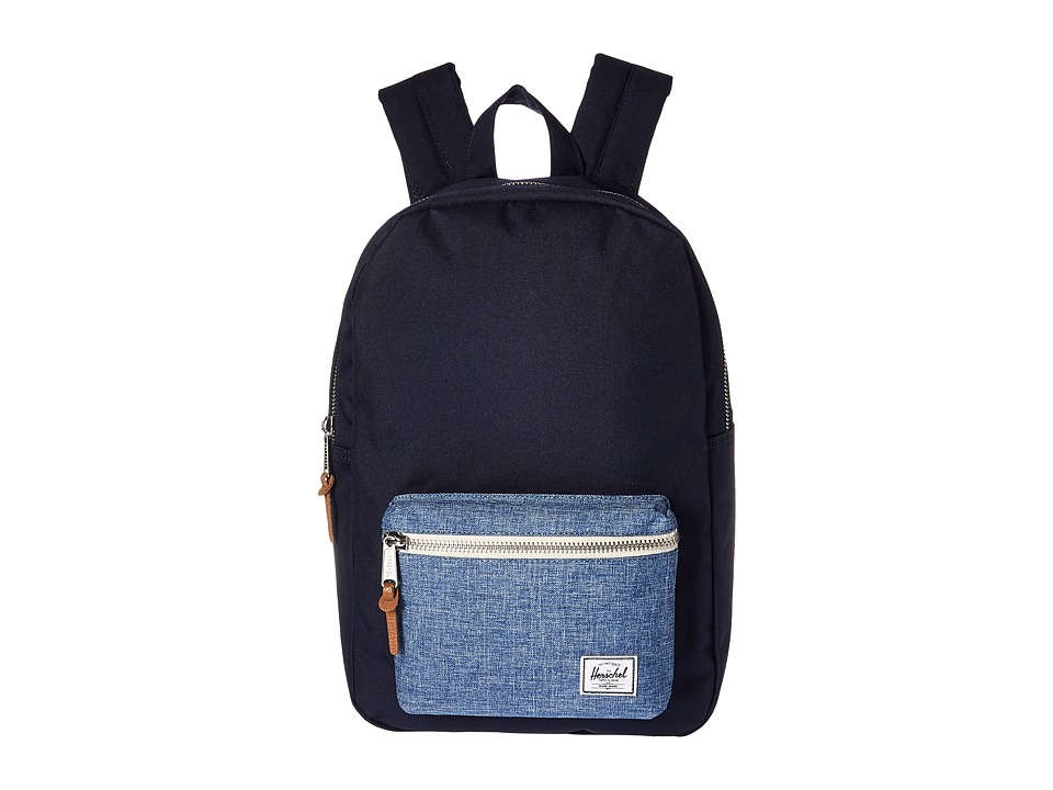 Herschel Supply Co. - Settlement Mid-Volume (Peacoat/Limoges Crosshatch) Backpack Bags