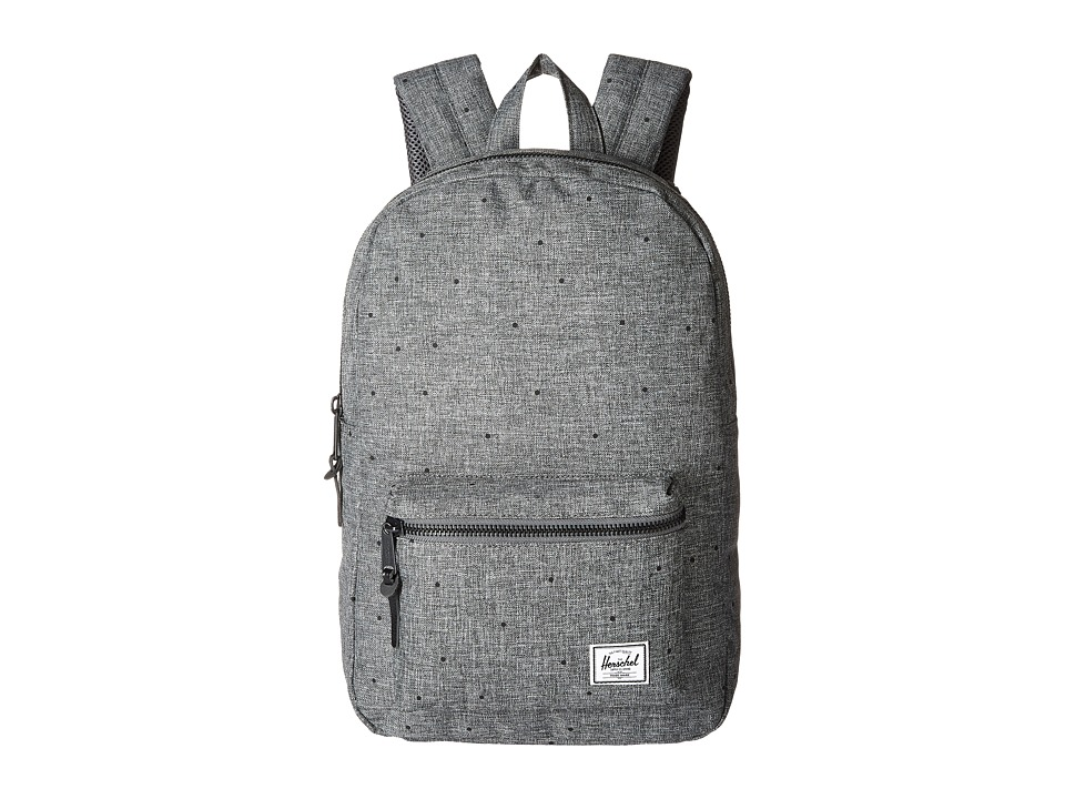 Herschel Supply Co. - Settlement Medium (Scattered Raven Crosshatch) Backpack Bags