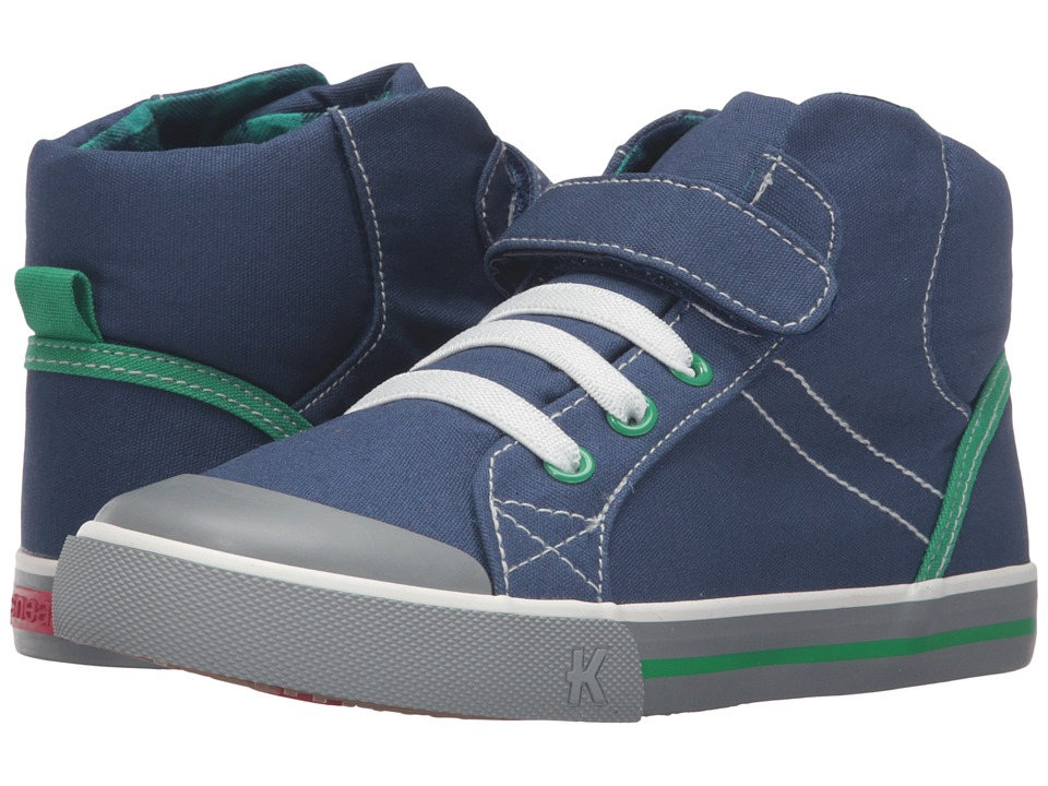 See Kai Run Kids - Dane (Toddler/Little Kid) (Navy) Boy's Shoes