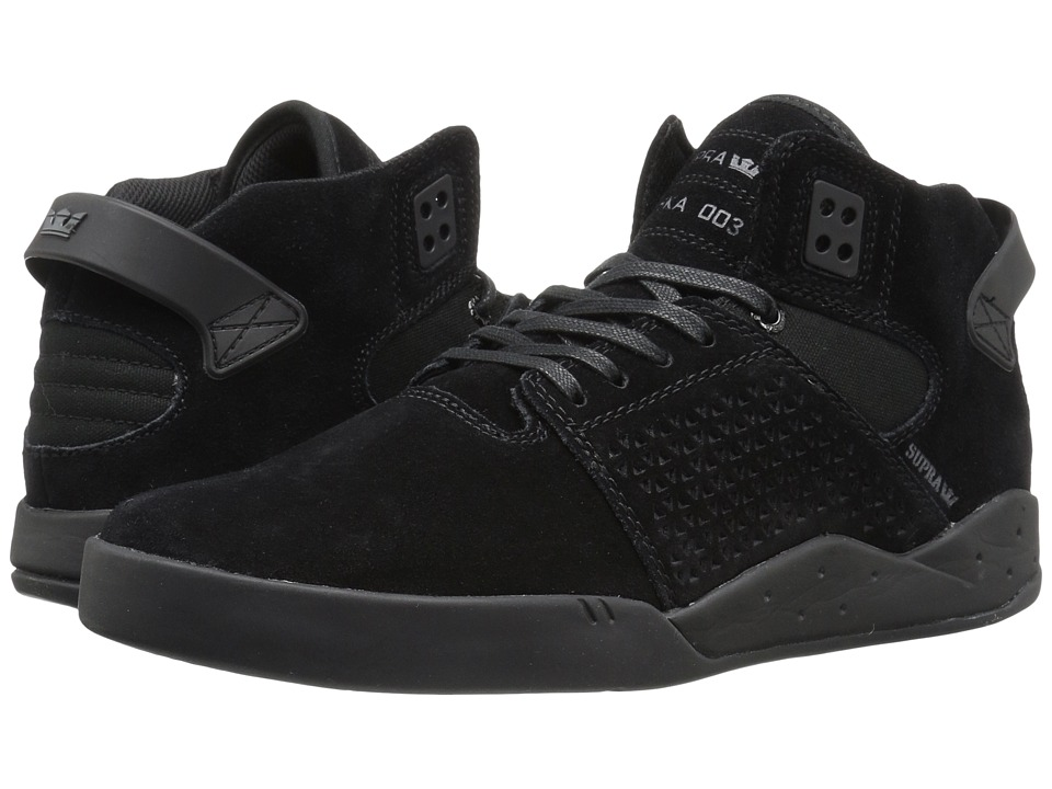 Supra - Skytop III (Black Suede) Men's Skate Shoes