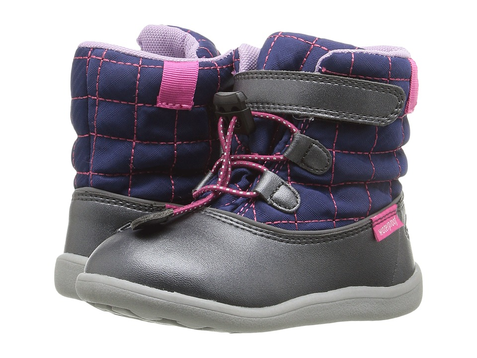 See Kai Run Kids Abby WP (Toddler) (Navy/Dark Gray) Girl