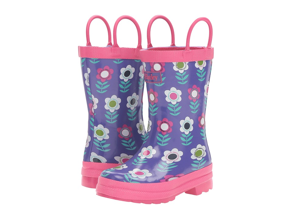 Hatley Kids - Nordic Flower Rain Boots (Toddler/Little Kid) (Multicolor) Girls Shoes