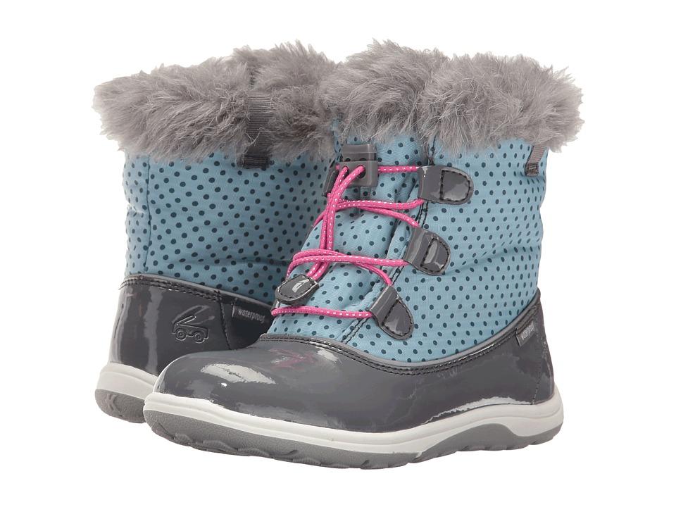 See Kai Run Kids - Abby WP (Toddler/Little Kid) (Light Blue/Gray) Girl's Shoes
