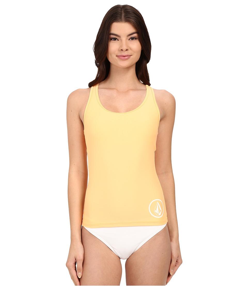 Volcom - Simply Solid Tankini Top (Sparkler) Women's Swimwear