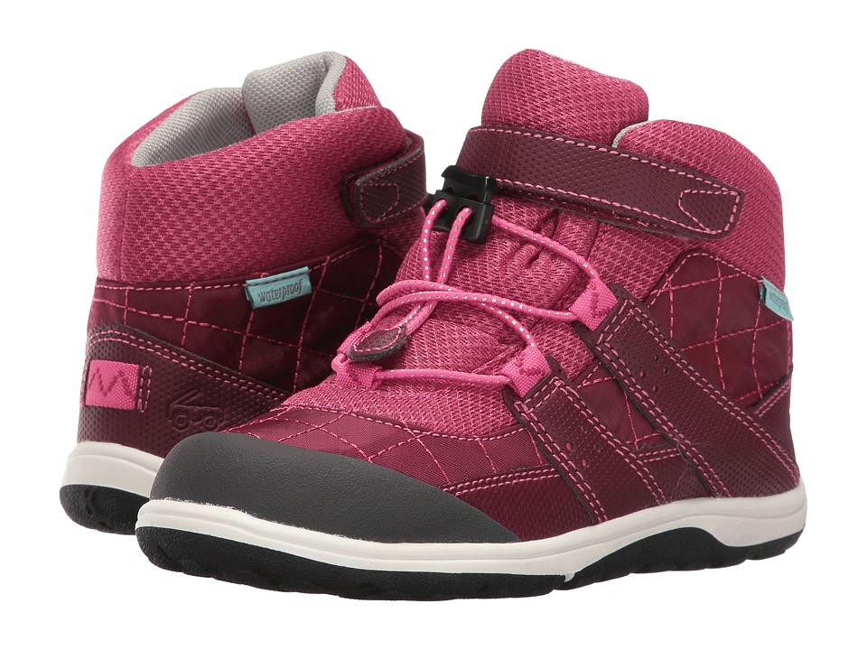 See Kai Run Kids - Atlas WP (Toddler/Little Kid) (Burgundy/Berry) Girl's Shoes