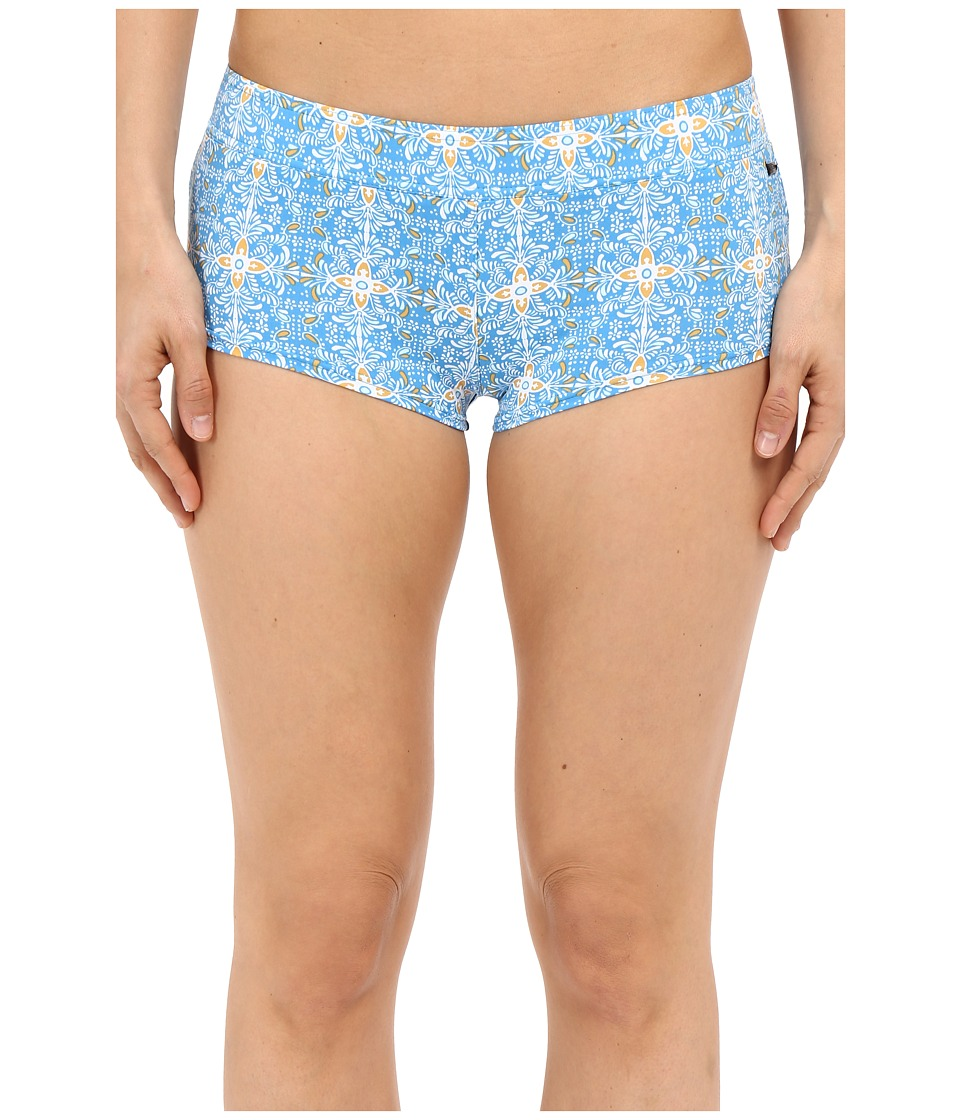 Volcom - Wallflower 2 Boardshorts (Bright Blue) Women's Swimwear