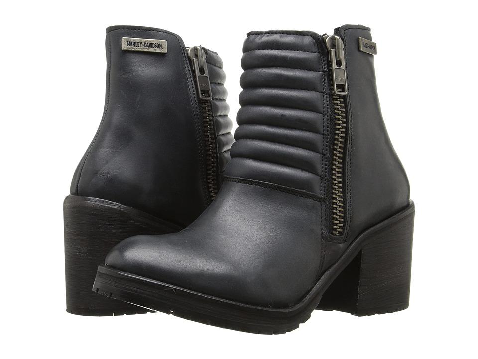 Harley-Davidson - Aranda (Slate) Women's Zip Boots