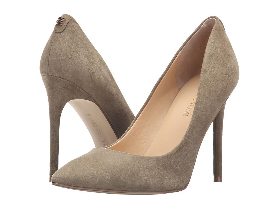 Ivanka Trump Kayden 4 (Olive Suede) High Heels