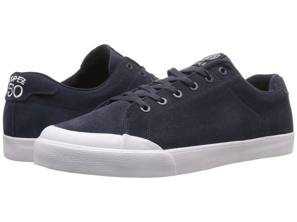 Circa - AL50R (Navy/White) Men's Skate Shoes