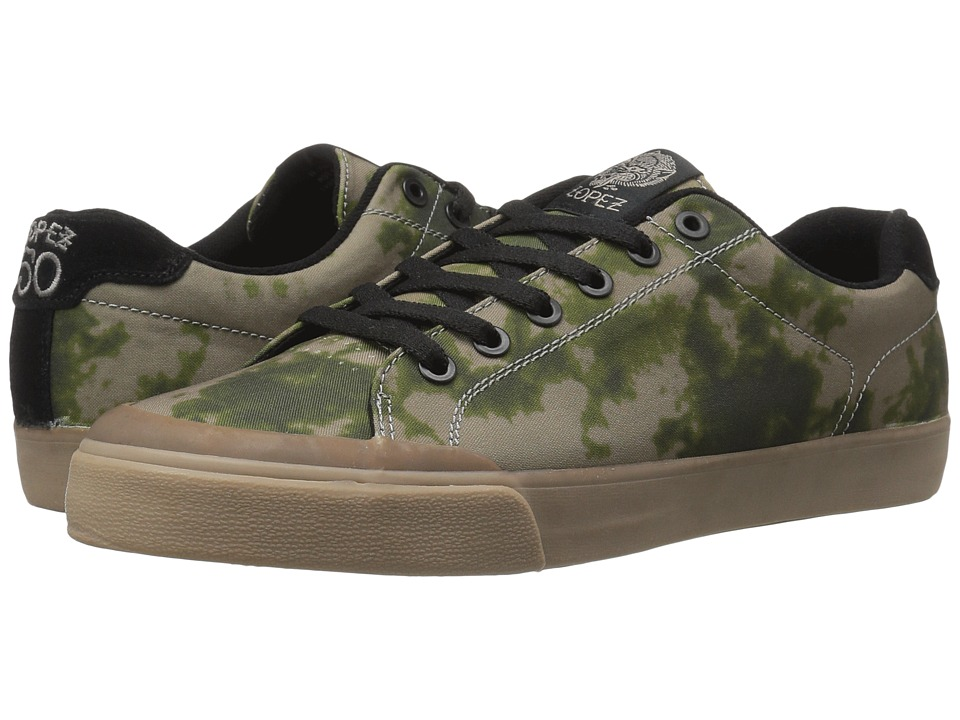 Circa - AL50R (Olive/Gum) Men's Skate Shoes