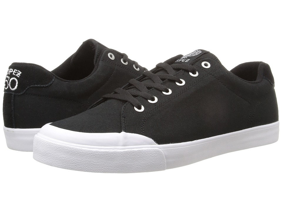 Circa - AL50R (Black/White) Men's Skate Shoes