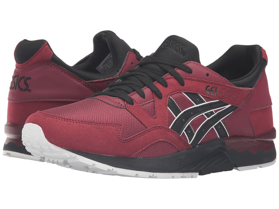 ASICS Tiger - Gel-Lyte V (Pomegranate/Black) Shoes