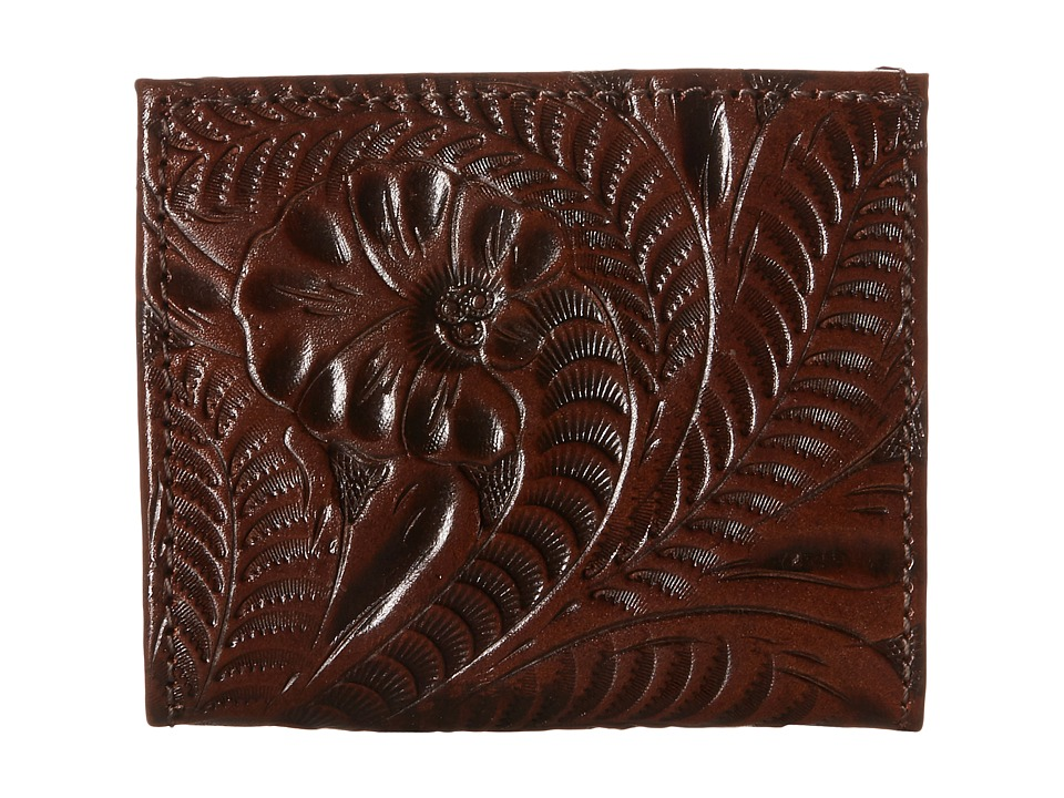 American West - Boyfriend Wallet Bifold Wallet (Chestnut Brown) Wallet Handbags