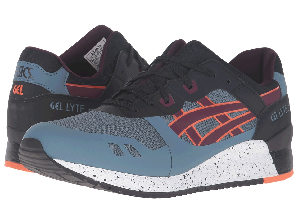 Onitsuka Tiger by Asics - Gel-Lyte III NS (Blue Mirage/Rioja Red) Shoes