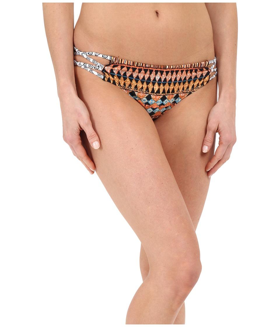 Volcom - Tradewinds Cheeky Bottom (Grapefruit) Women's Swimwear