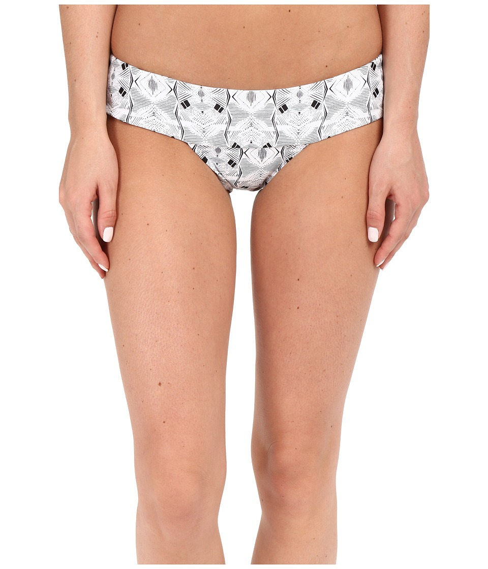 Volcom - Day Tripper Modest Bottom (White) Women's Swimwear
