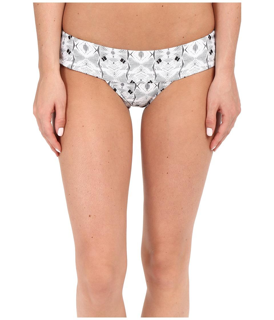 Volcom - Day Tripper Modest Bottom (Bleached Aqua) Women's Swimwear