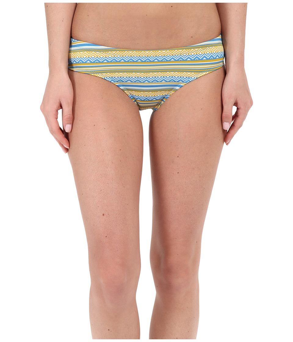 Volcom - PLH Cheeky Bottom (Bright Blue) Women's Swimwear