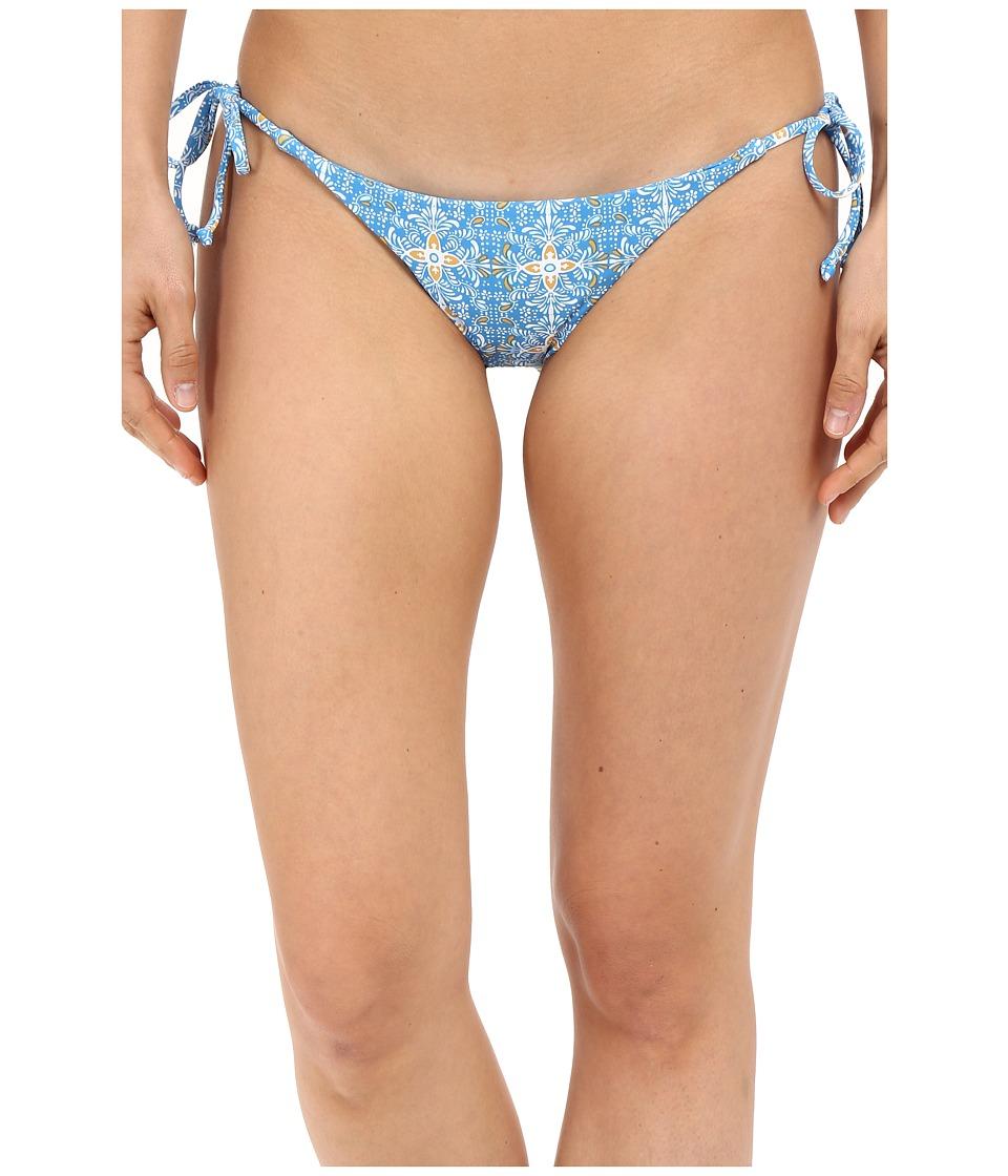 Volcom - Wallflower Full Bottom (Bright Blue) Women's Swimwear