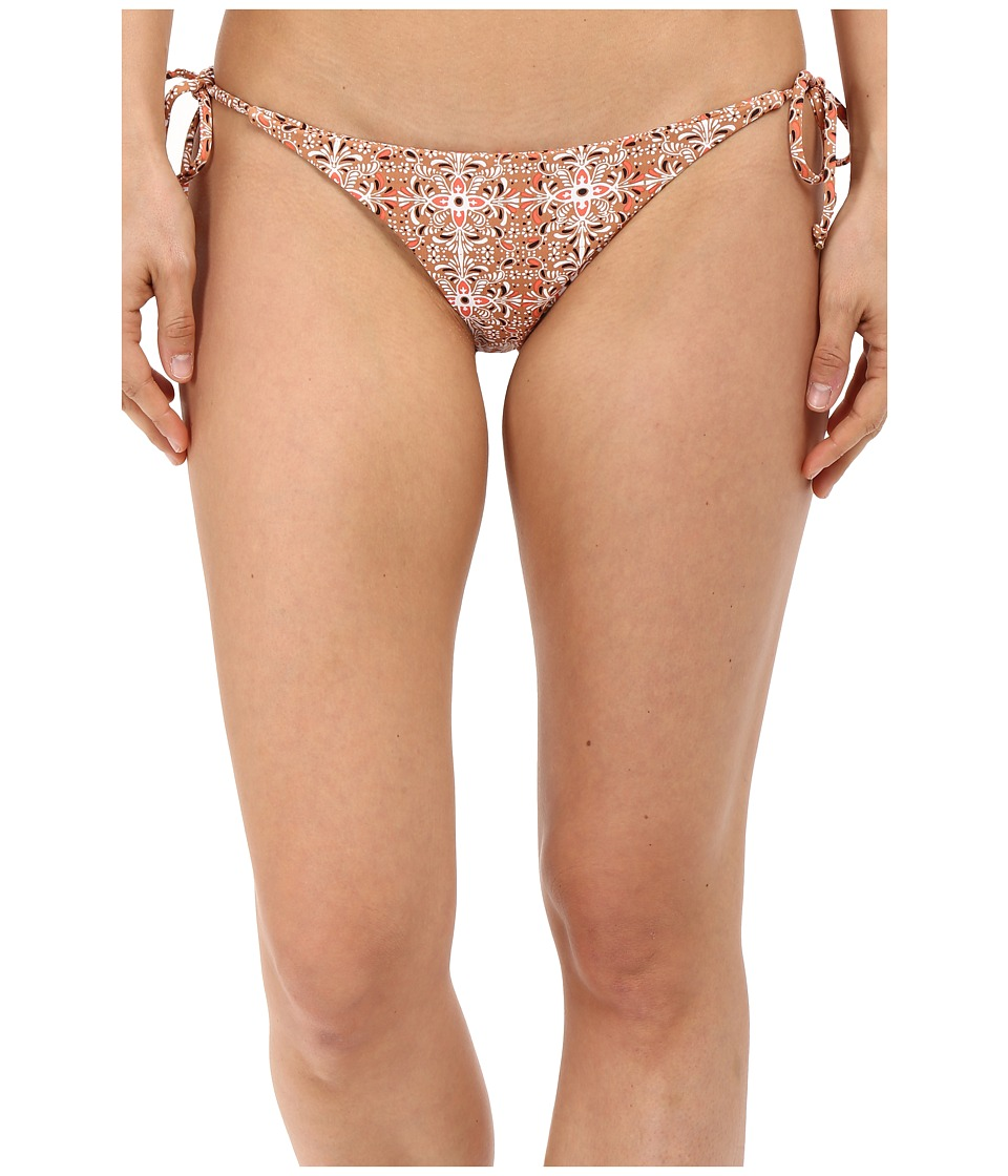 Volcom - Wallflower Full Bottom (Vintage Brown) Women's Swimwear