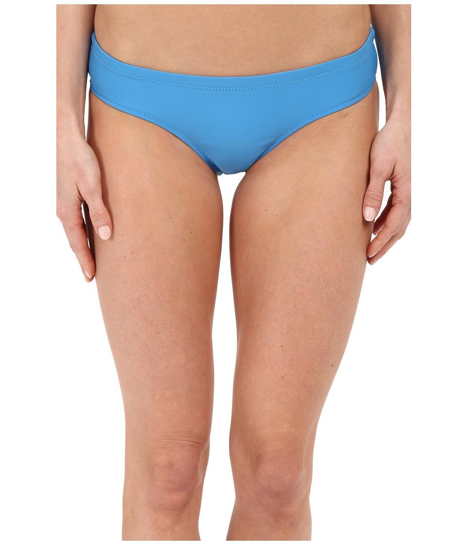 Volcom - Simply Solid Cheeky Bottom (Bright Blue) Women's Swimwear