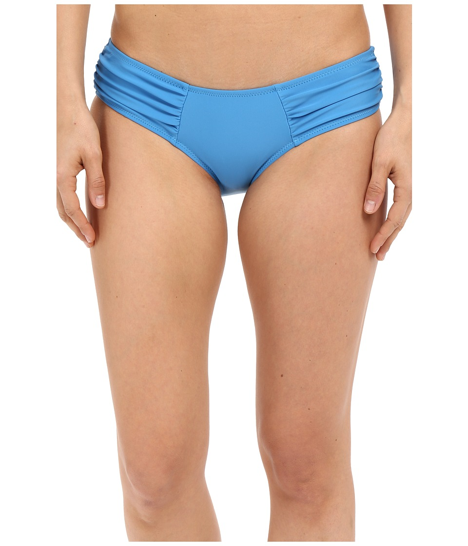 Volcom - Simply Solid Modest Bottom (Bright Blue) Women's Swimwear