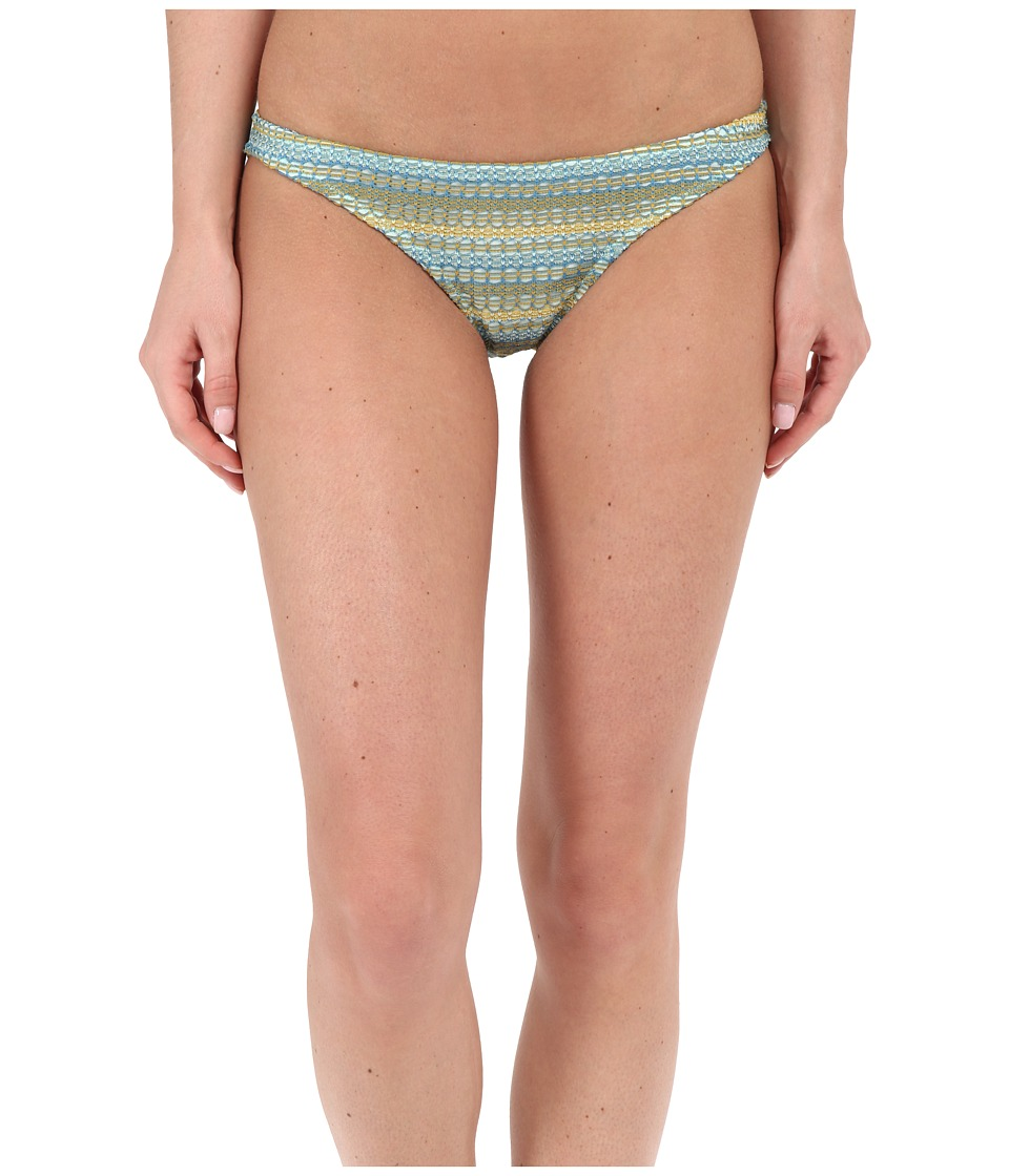 Volcom - Wildly Bare Full Bottom (Bright Blue) Women's Swimwear