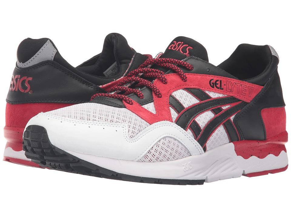ASICS Tiger - Gel-Lyte V (Red/Black) Shoes