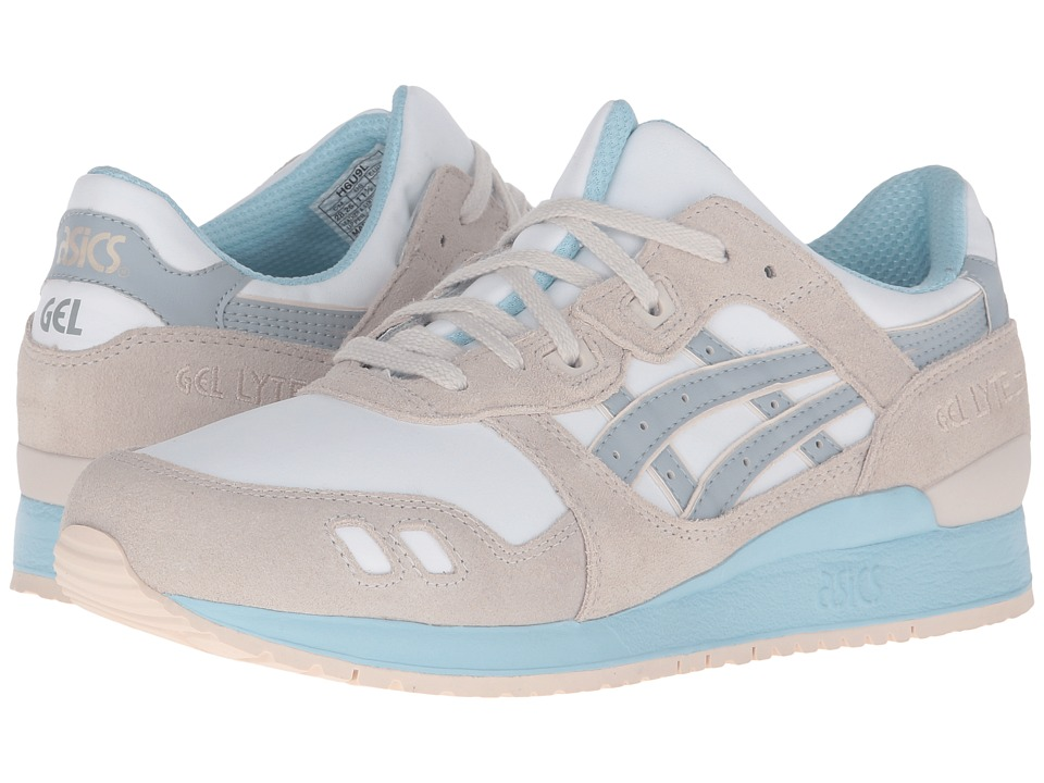 ASICS Tiger - Gel-Lyte III (White/Light Grey) Women's Shoes