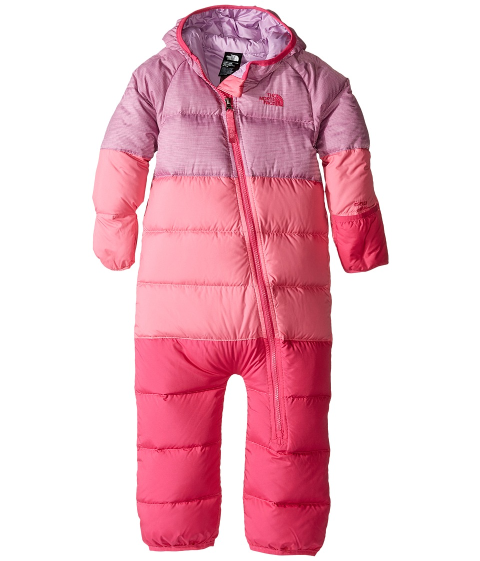 The North Face Kids - Lil' Snuggler Down Suit (Infant) (Wisteria Purple Heather) Kid's Snow Bibs One Piece