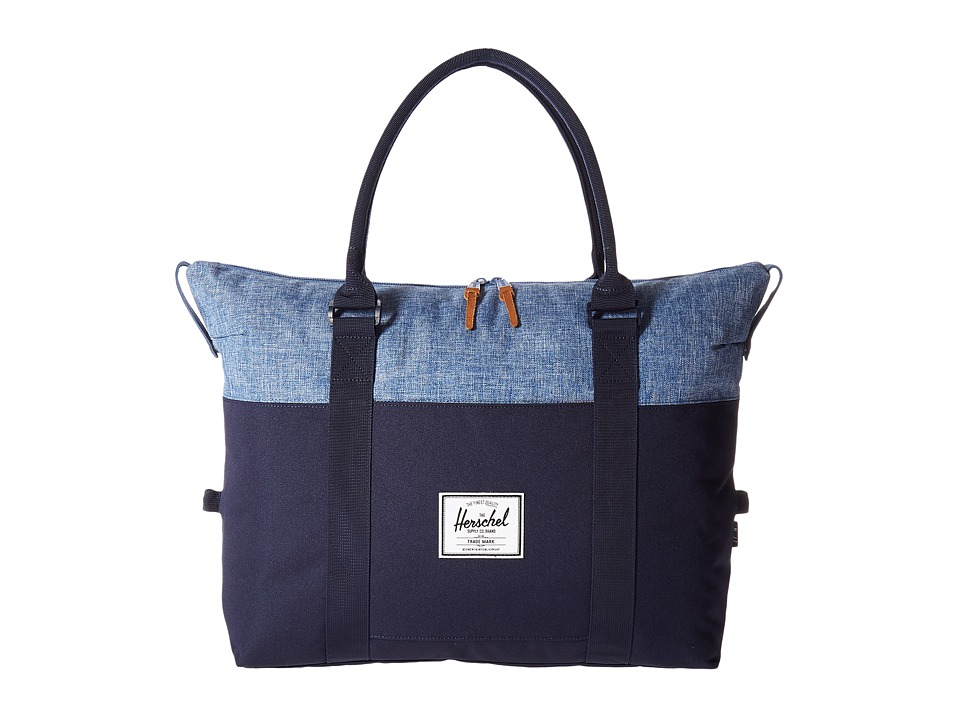 Herschel Supply Co. - Strand (Peacoat/Limoges Crosshatch) Duffel Bags