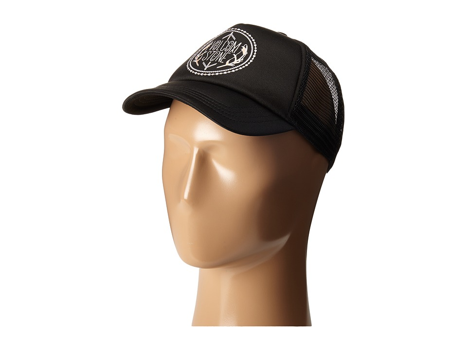 Volcom - Carefree Hat (Black/Black) Caps