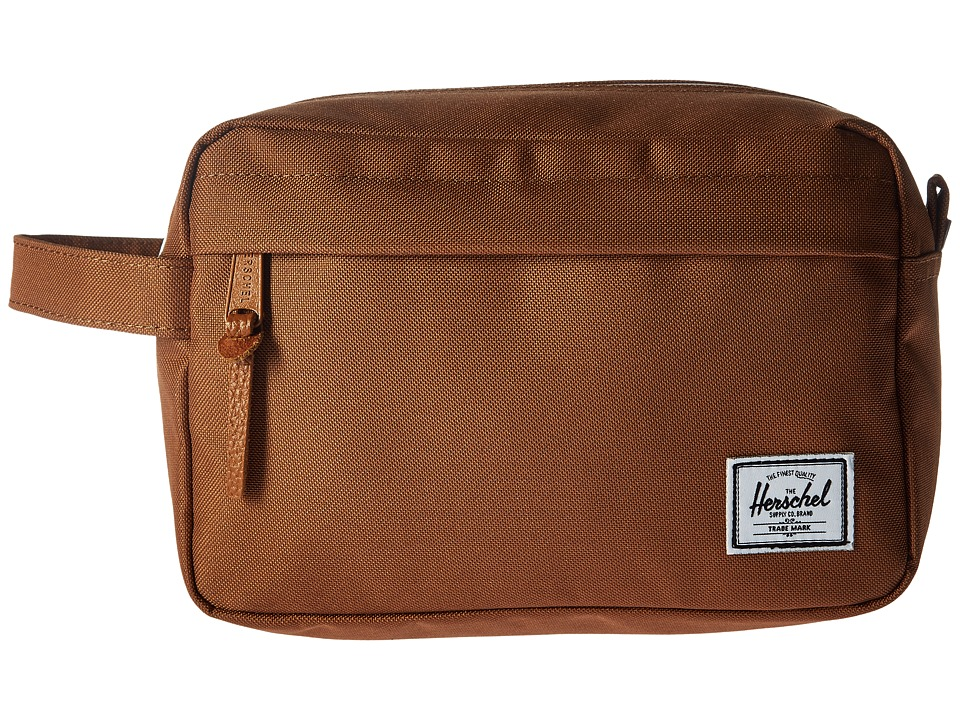 Herschel Supply Co. - Chapter (Caramel) Toiletries Case