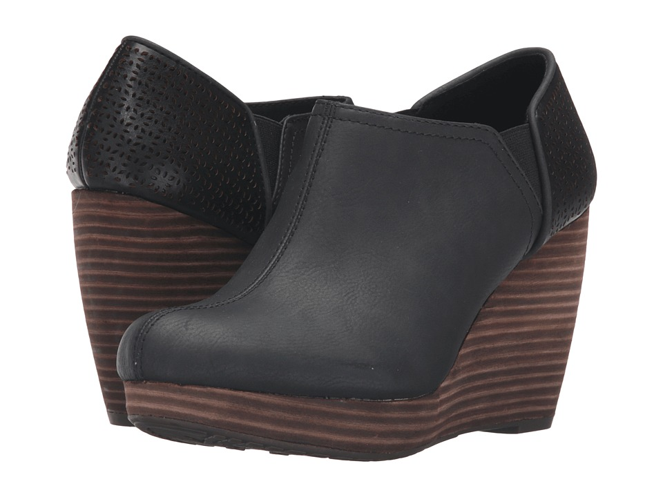 Dr. Scholl's - Harlow (Black) Women's Wedge Shoes