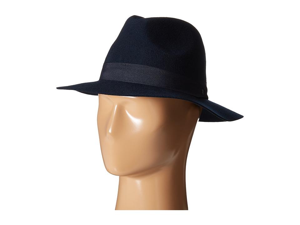 Volcom - Clasico Fedora (Dark Navy) Fedora Hats