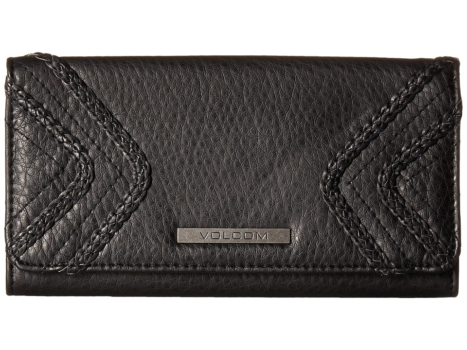 Volcom - City Girl Wallet (Black) Wallet