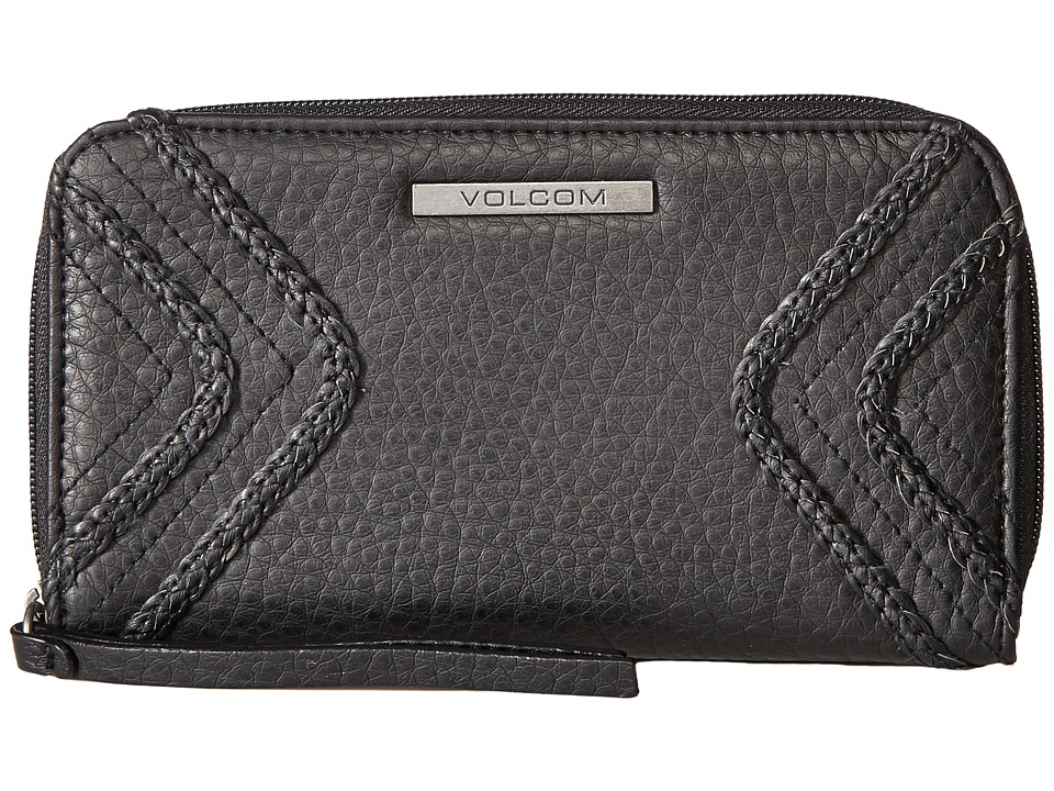 Volcom - City Girl Zip Wallet (Black) Wallet