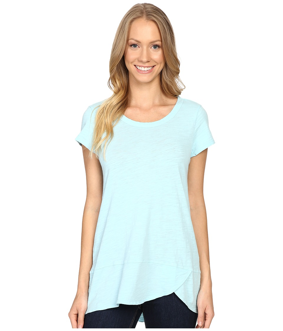 Mod-o-doc - Slub Jersey Short Sleeve Scoopneck Tee (Seabreeze) Women's T Shirt